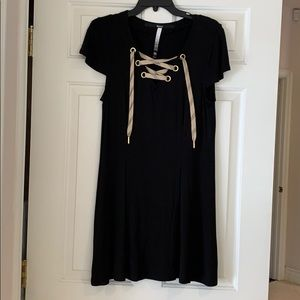 Kenzie midi Black Dress size M